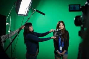 Photo of business video creation