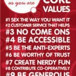 Your Core Business Values Can Change Your Life