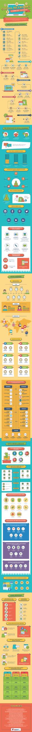 Infographic on social media marketing